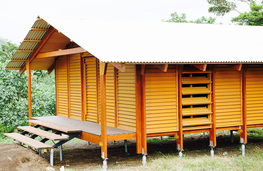 Nev House, Nev Hyman, Nev House by Nev Hyman, prefab, sustainable, recycled, plastic, wood, resilient design, natural disasters, architecture, design, Vanuatu, homes, houses