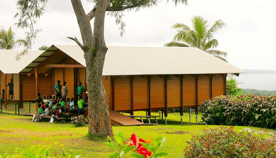 Nev House, Nev Hyman, Nev House by Nev Hyman, prefab, sustainable, recycled, plastic, wood, resilient design, natural disasters, architecture, design, Vanuatu, homes, houses, schoolhouse, school