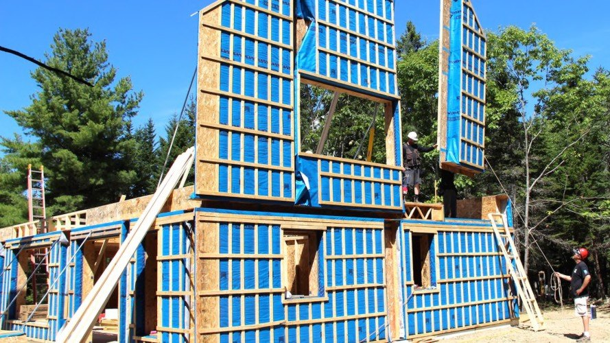 Passive House prefabricated homes by Ecocor and RPA, passive house prefabricated homes, passive house prefab homes in north america, Ecocor prefab homes, RPA passive house prefab homes, Ecocor and RPA partnership