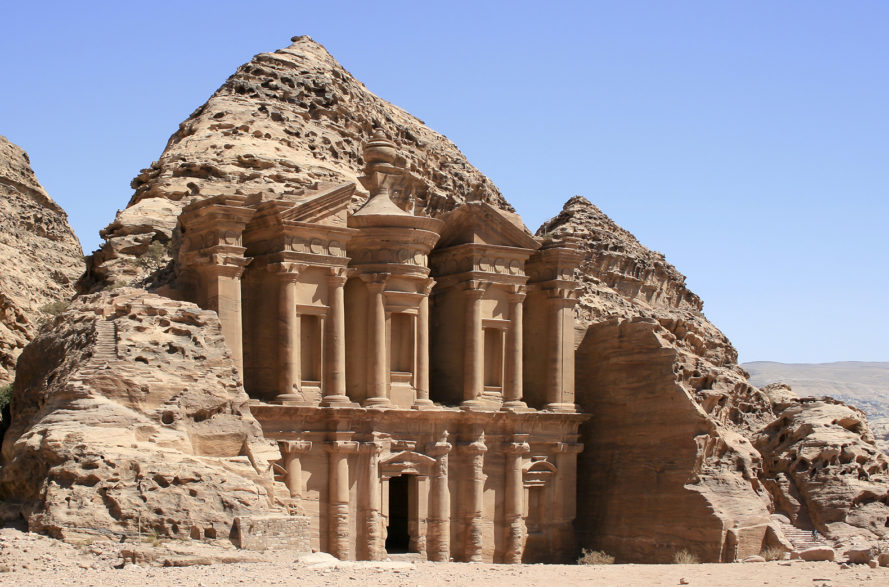 Petra, ancient city, ancient civilization, ancient, archaeology, discovery, monument, platform, Monastery