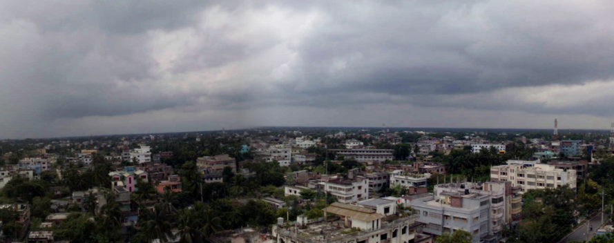 Rajshahi, Bangladesh, air pollution, dust smog, pollution, green city, clean city, trees, pavement, brick kilns