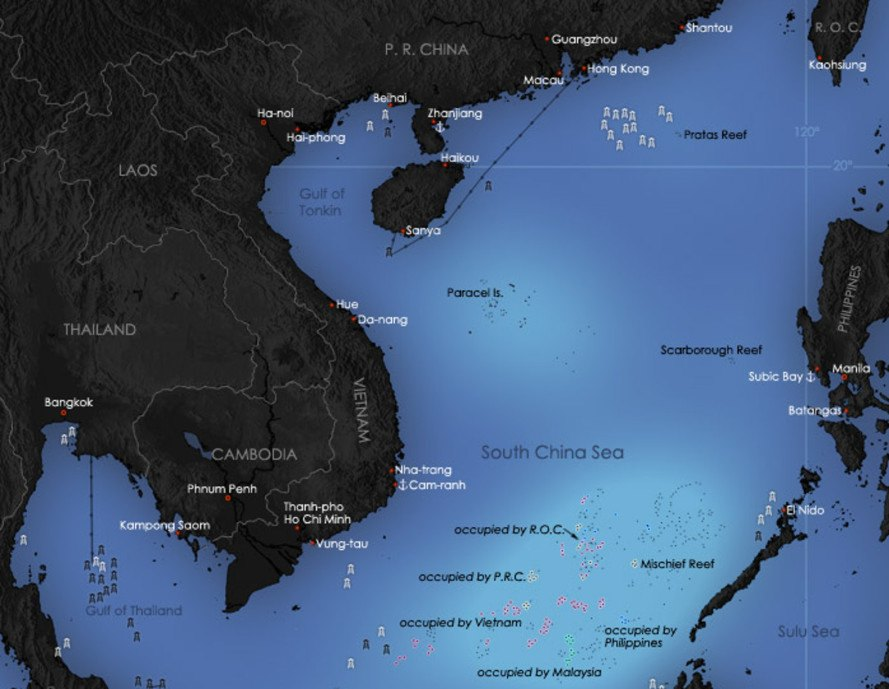 china, south china sea, underwater lab, underwater research station, marine research, marine biology, offshore drilling, offshore oil, offshore mining
