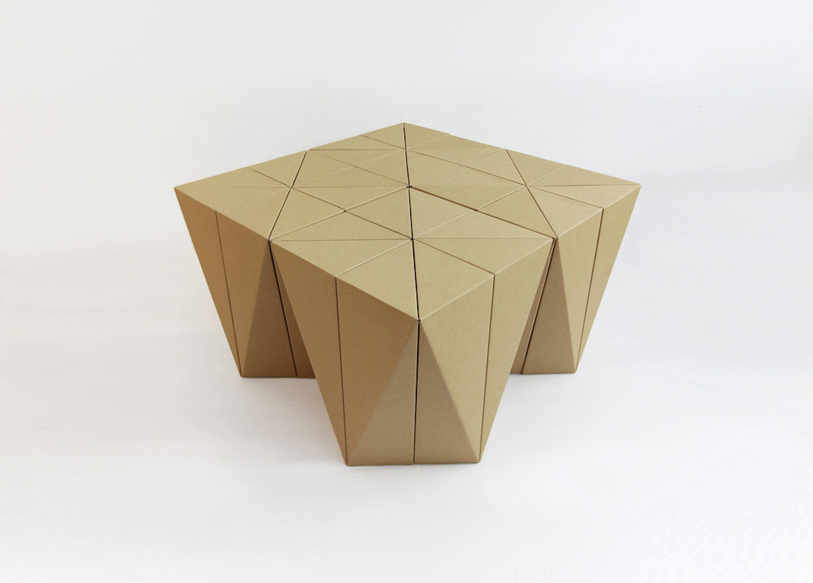 cardboard furniture design. spiral stool is a sturdy flatpack made from 100 recyclable cardboard furniture design r