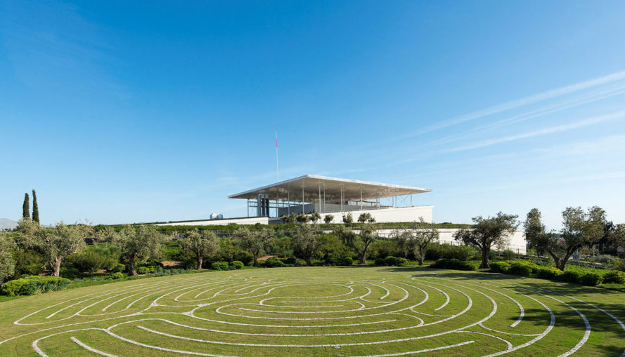 Renzo Piano, Stavros Niarchos Cultural Center, green roof, cultural center, Athens, Platinum LEED certification, LEED building, green architecture, solar panels, green library, public plaza