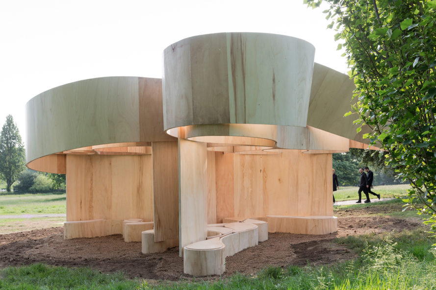 Serpentine Galleries, 2016 Serpentine Gallery Pavilion, Serpentine Gallery Pavilion, Summer Houses, Summer House, Queen Caroline's Temple, architecture, architecture installation, design, Barkow Leibinger, Summer House by Barkow Leibinger