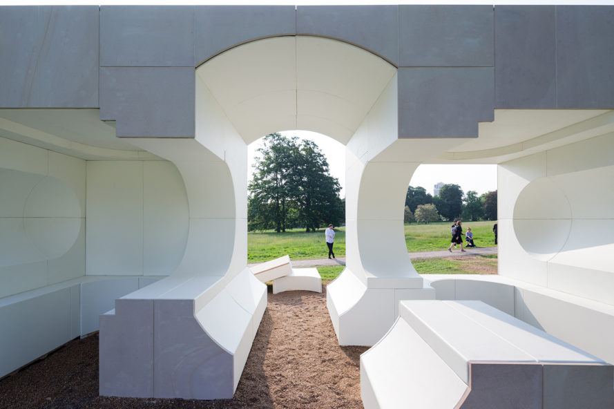 Serpentine Galleries, 2016 Serpentine Gallery Pavilion, Serpentine Gallery Pavilion, Summer Houses, Summer House, Queen Caroline's Temple, architecture, architecture installation, design, Kunlé Adeyemi, Summer House by Kunlé Adeyemi
