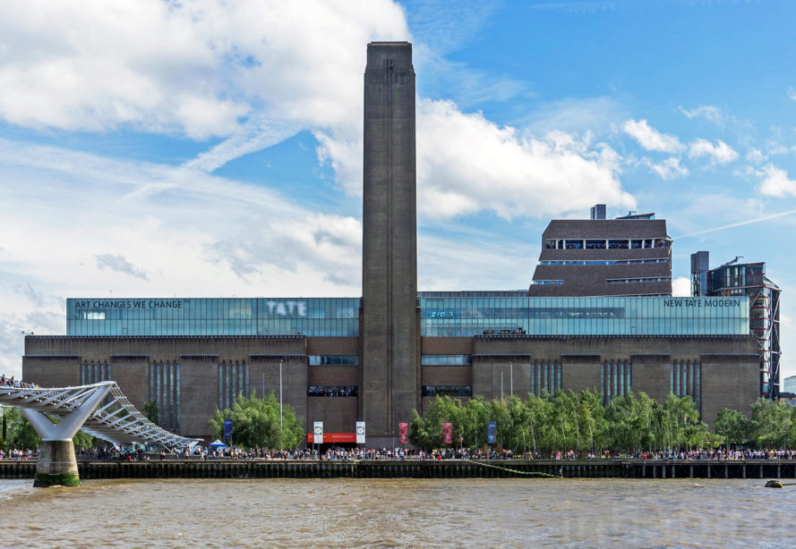 The new tate modern switch house designed by herzog de for Tate modern building design
