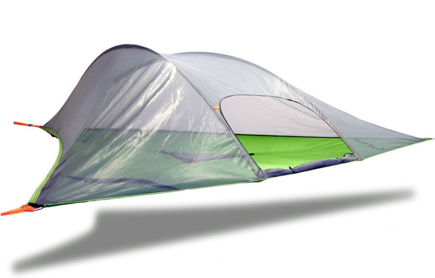 Tentsile, Tentsile Stingray Tent, Tentsile Stingray, Stingray Tent, tree tent, suspended tent, hanging tent, camping, camping gear, camping supplies, green design, sustainable design, off-grid camping giveaway