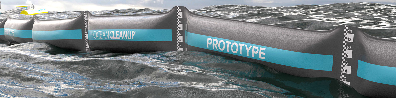 Ocean Cleanup Launches Historic First Prototype Thanks To Dutch Backing