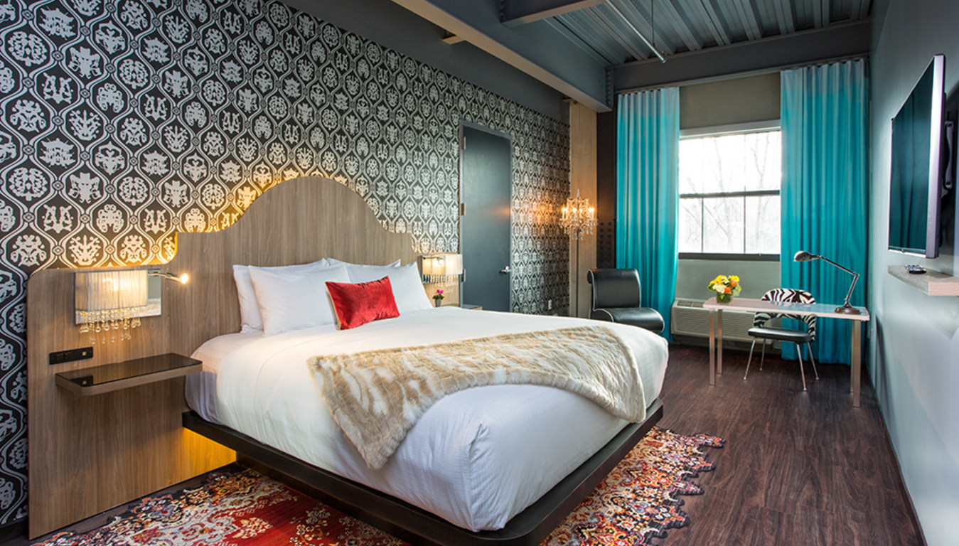 Plan a summer getaway to this brand new Hudson Valley hotel inside of a former factory