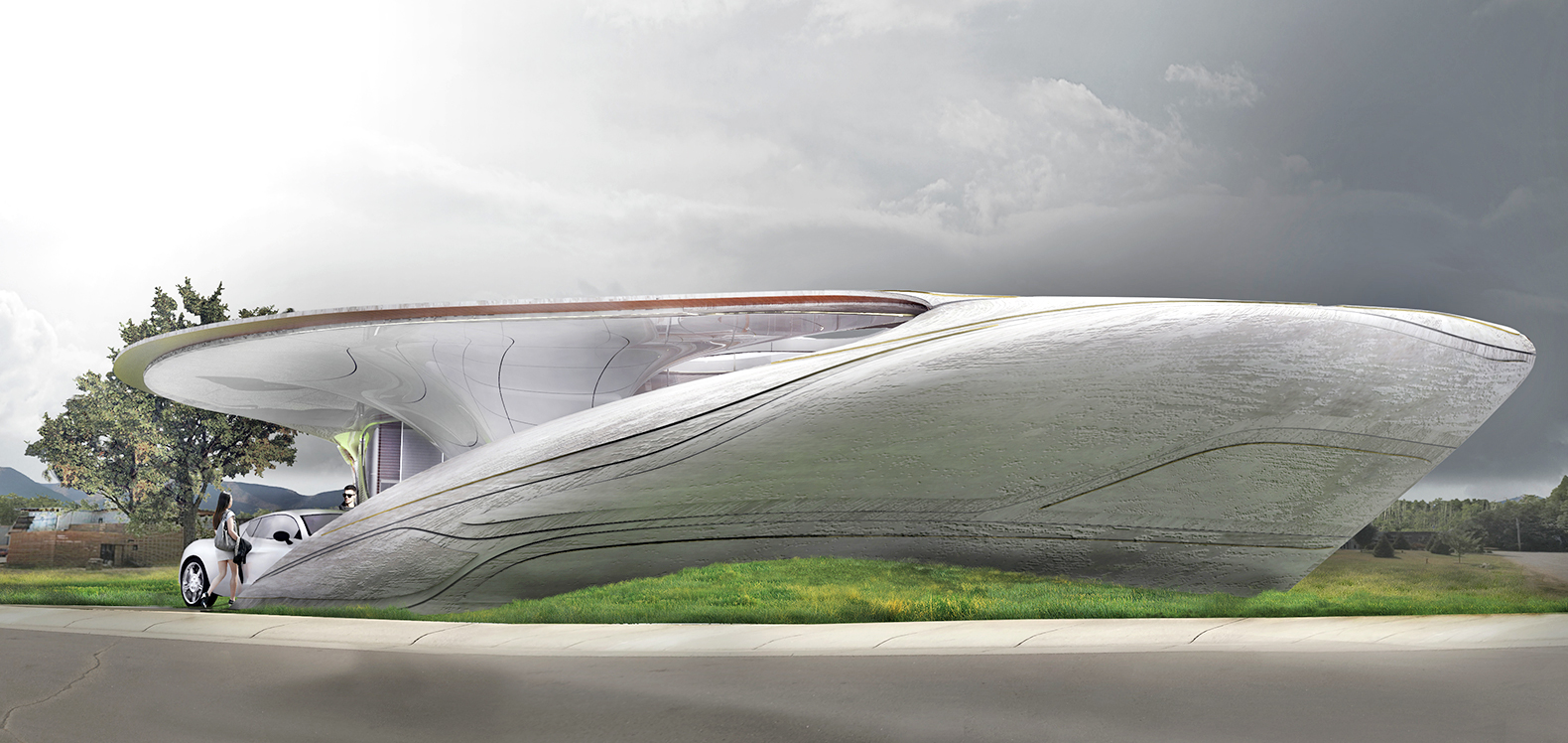 WATG unveils plans for the world's first freeform 3D-printed house