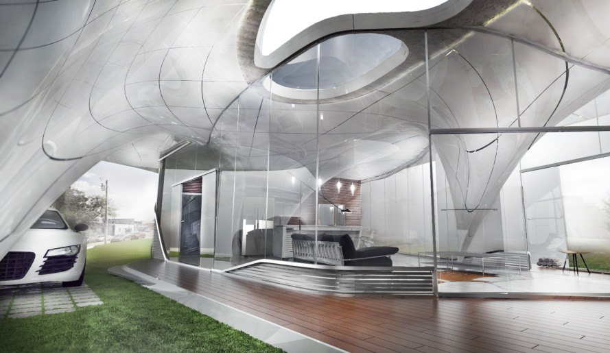 watg, watg architecture, watg urban architecture, branch technology, freeform home design challenge, freeform 3D-printed house, 3d-printed building, 3d-printed architecture