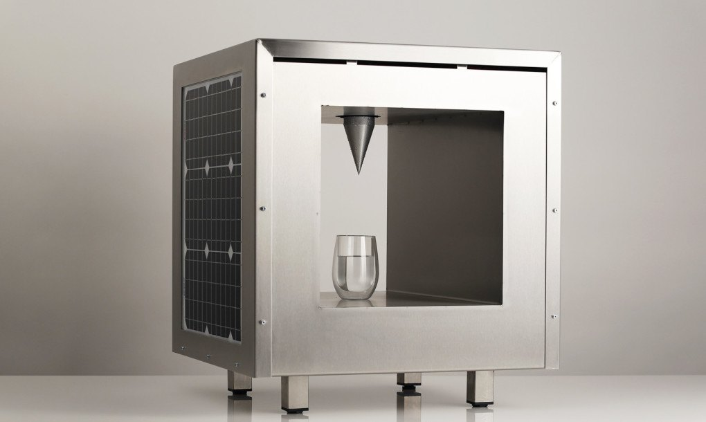 Compact Watercube Uses Solar Power To Make Clean Drinking
