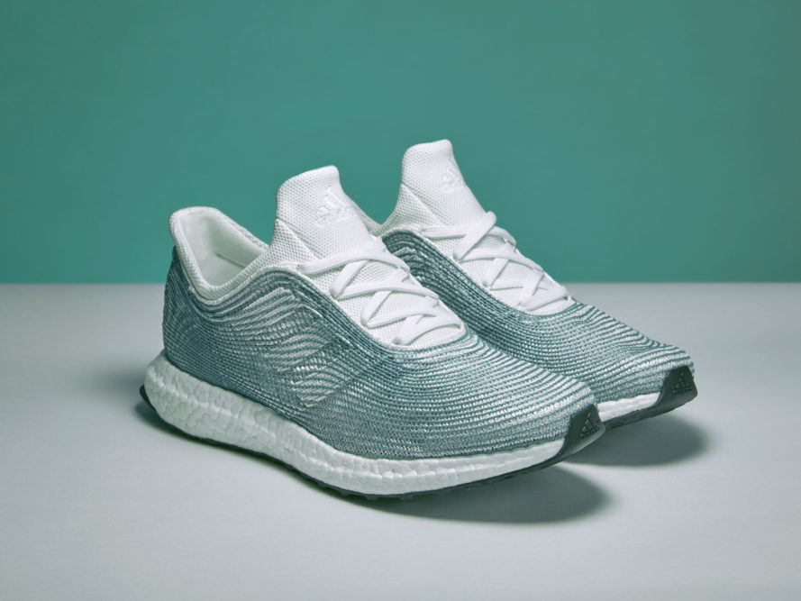 Adidas x Parley host giveaway for 3D-printed sneakers made from recycled ocean  plastic