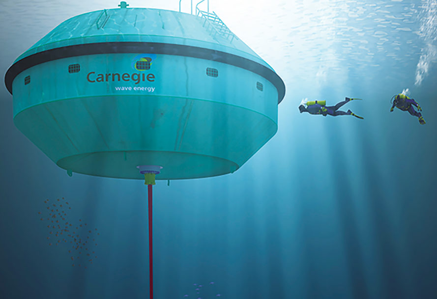 Australian Wave Energy Project Sets A New World Record