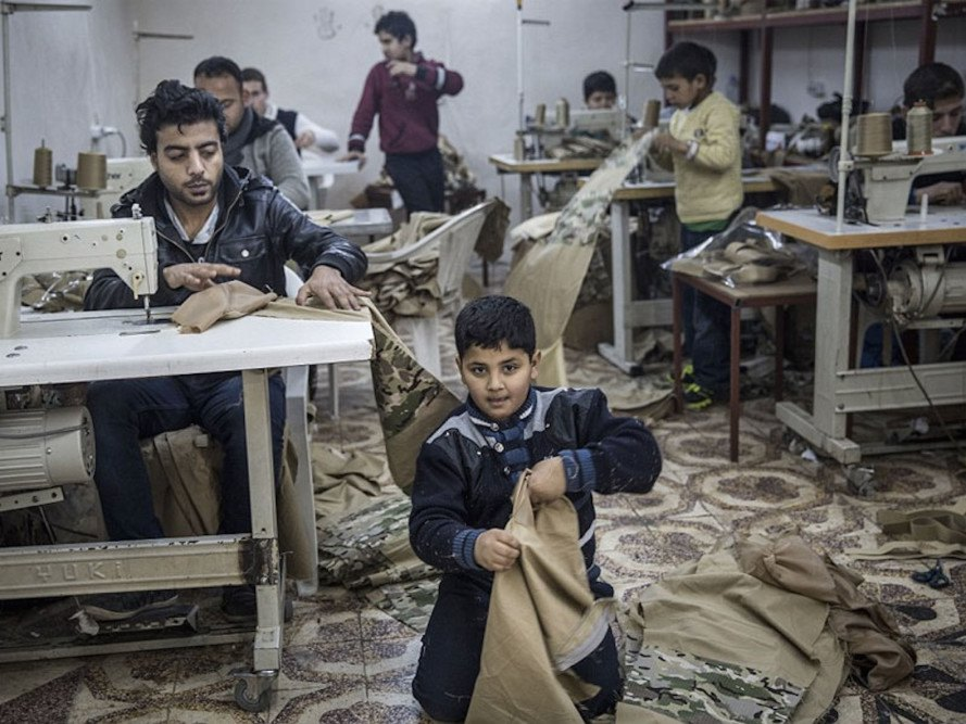 A look into a Turkey sweatshop's use of Syrian child labor ...