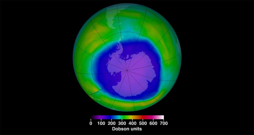 Antarctica, ozone, ozone layer, ozone hole, Susan Solomon, Montreal Protocol, CFCs, chlorofluorocarbons, chlorine, atmosphere, science, policy