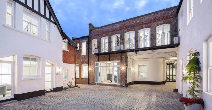Neglected London bakery transformed into beautiful luxury housing