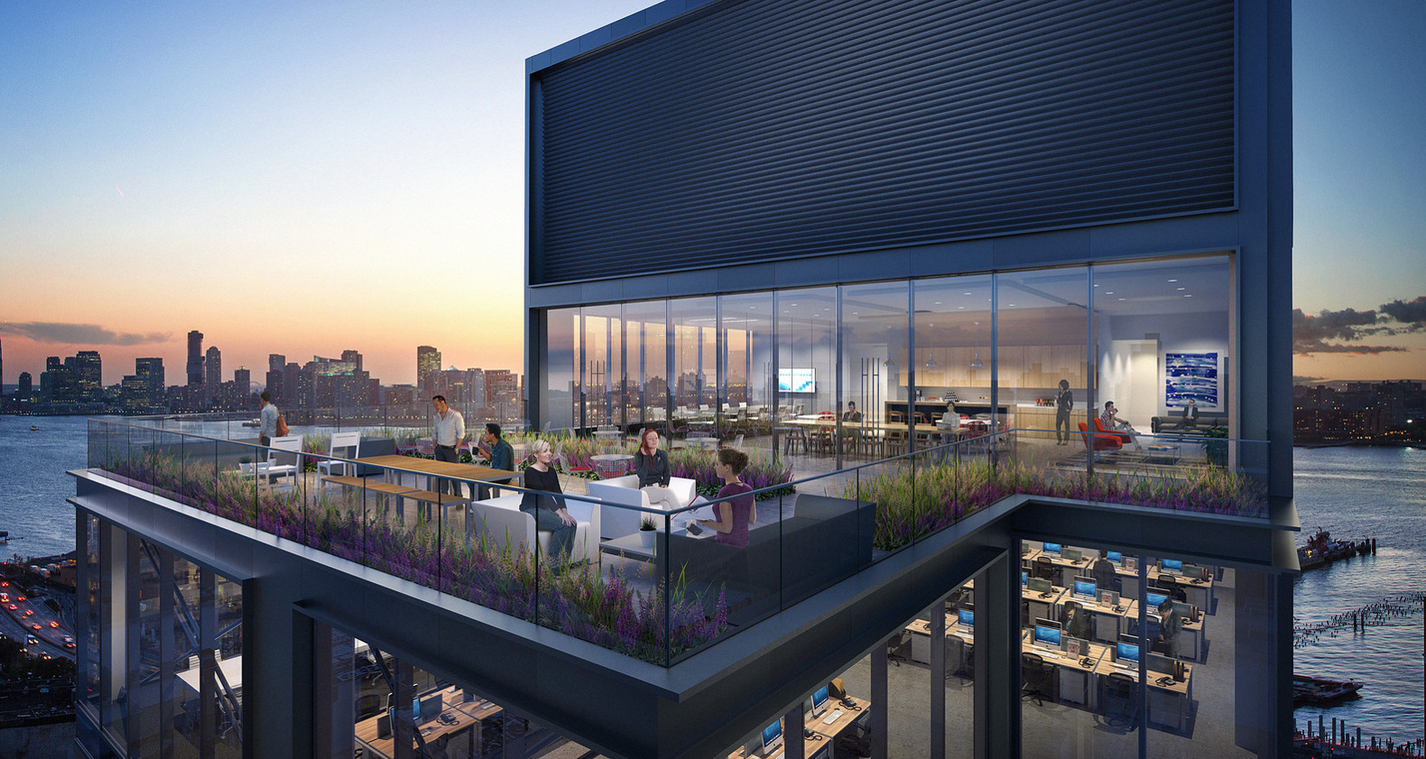 Landscaped Roof And 5 Terraces Give The Meatpacking Districtu0027s Tallest  Building Tons Of Sky Appeal