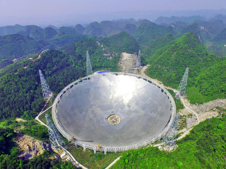 China, China space agency, China space, China FAST telescope, FAST, FAST telescope, Five-hundred-meter Aperture Spherical Telescope, aliens, alien life, extraterrestrials, extraterrestrial life, space, outer space, National Astonomical Observatory, Chinese Academy of Sciences