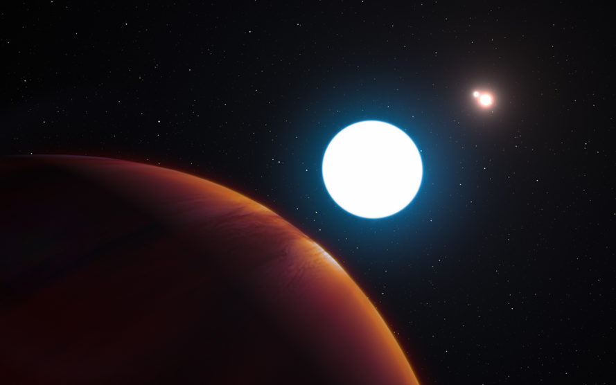 Planet, planets, exoplanet, exoplanets, European Southern Observatory, space, space discovery, space exploration, exoplanet discovery, HD 131399Ab, three suns, triple-star system, multi-star system, stars