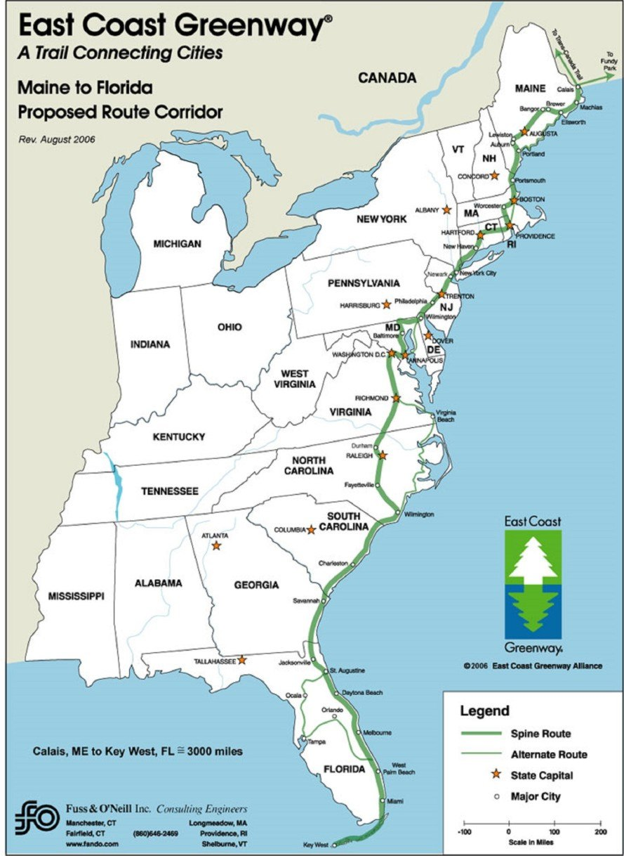 New East Coast Greenway stretching from Florida to Maine is ... Maine Coast Map on bar harbor map, new orleans map, maine storm map, maine mall portland maine map, state of maine map, camden maine map, maine woods map, maine harbor map, maine desert map, maine western map, maine map with latitude and longitude, acadia maine map, maine bay map, midcoast maine map, maine north map, gorham maine street map, maine school districts map, maine oregon map, blue hill maine map, maine east map,