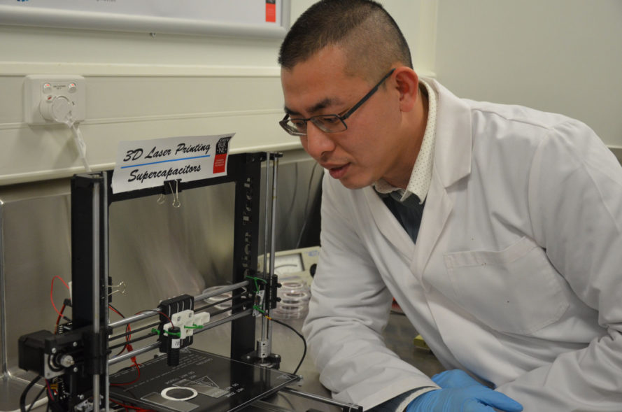 Swinburne University, australia, melbourne, han lin, battery, graphene, supercapacitor, carbon, new battery technology