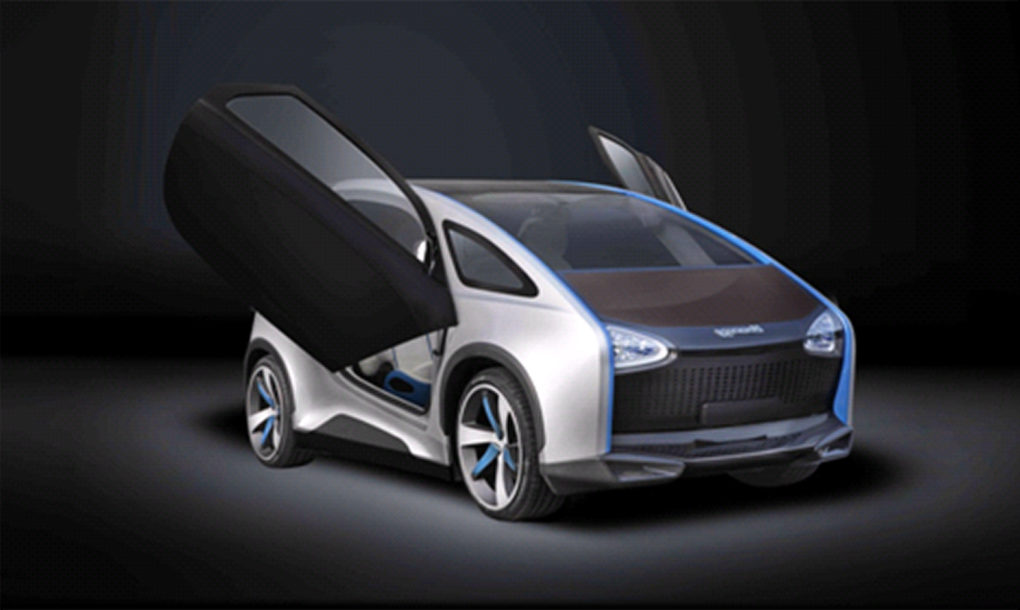 Hanergy Launches Four Solar Cars Powered Entirely By The