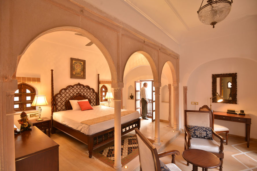 Haveli Dharampura, green restoration, Delhi, Spaces Architects@ka, hotel restoration, India, colonial building, traditional architecture, vernacular architecture, green renovation