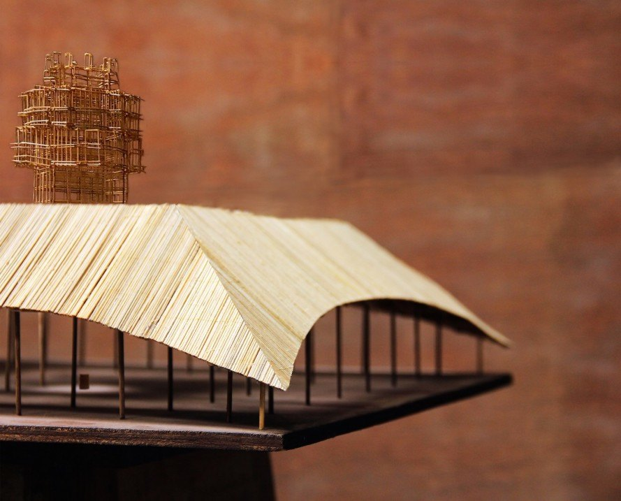 largest bamboo structure in Australia, MPavilion 2016, MPavilion by Bijoy Jain, bamboo MPavilion,