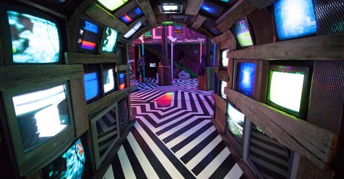 Meow Wolf Turns Abandoned Bowling Alley Into Fantastic