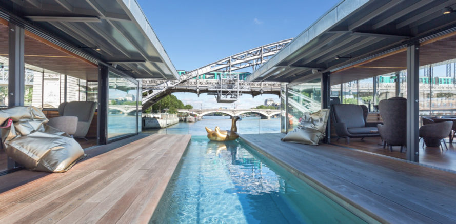 off, off hotel, paris hotel, paris bar, siene, paris, parisian hotel, floating hotel, floating bar