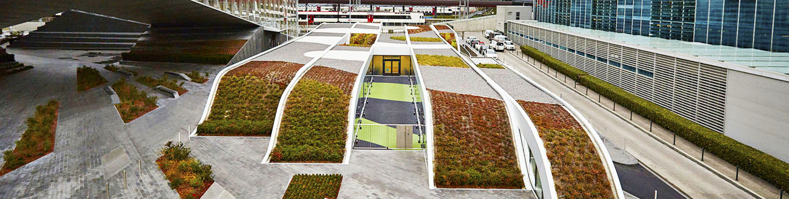 A Rolling Green Roof Between Two Corporate Buildings In Geneva Hides An  Innovative Nursery School | Inhabitat   Green Design, Innovation,  Architecture, ...
