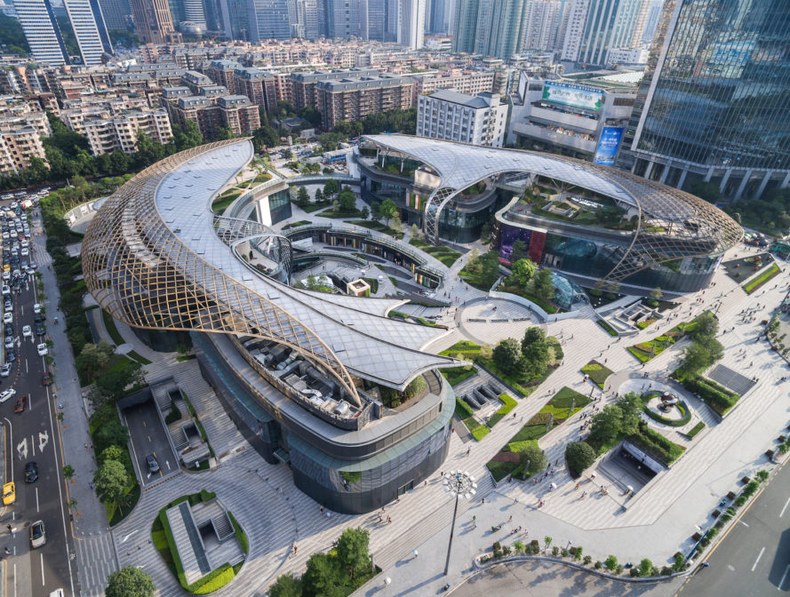 Parc Central by Benoy, Parc Central architecture, Parc Central greenry, Parc Central sustainability, Parc Central Guangzhou, Parc Central Guangdong, Transit Oriented Development China