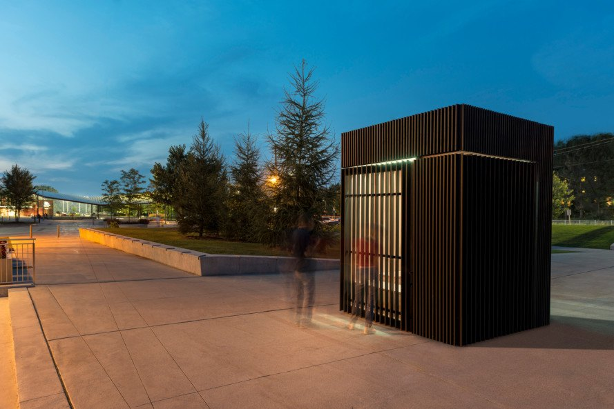Atelier Kastelic Buffey, story pod, canadian architecture, solar power, led bulbs, community architecture