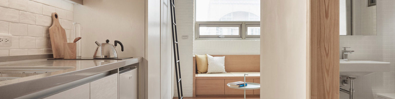 Smart Space Saving Design Transforms A Tiny Apartment In Taipei Into An  Upscale Home | Inhabitat   Green Design, Innovation, Architecture, Green  Building
