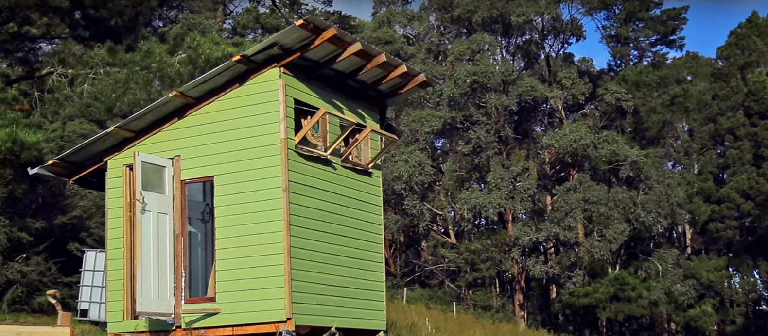 Australian Couple Builds A Tiny Home In Three Months For 320