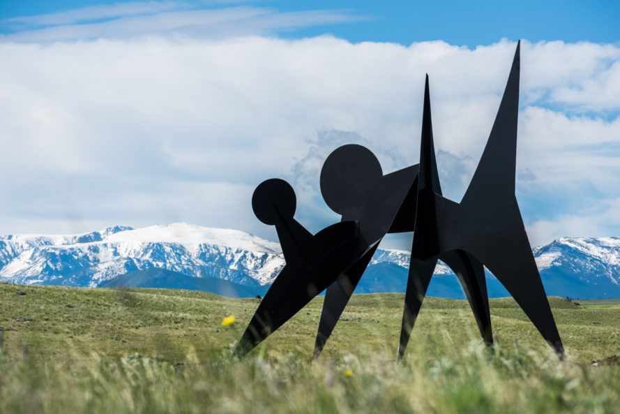 tippet rise, tippet rise art center, art center, sculpture, arup, ensamble studio, wan baan, beartooth mountains, alexander calder, patrick dougherty, mark di severo, stephen talasnik, montana, farm, art exhibition, concert hall, architecture