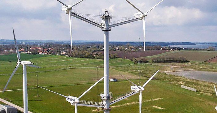 Vestas Shakes Up Wind Power With A 12 Blade Turbine Tower