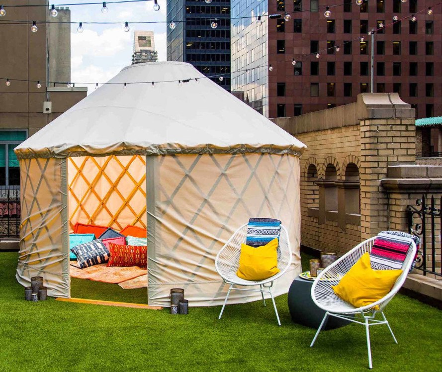 W Hotel offers luxury glamping as an add-on to its Extreme
