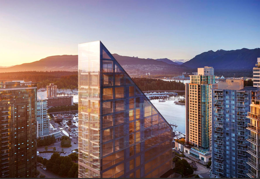 world's tallest hybrid timber tower, Vancouver project Shigeru Ban, Shigeru Ban Vancouver Architecture, World's Tallest Hybrid Timber Tower by Shigeru Ban and PortLiving, Shigeru Ban and PortLiving