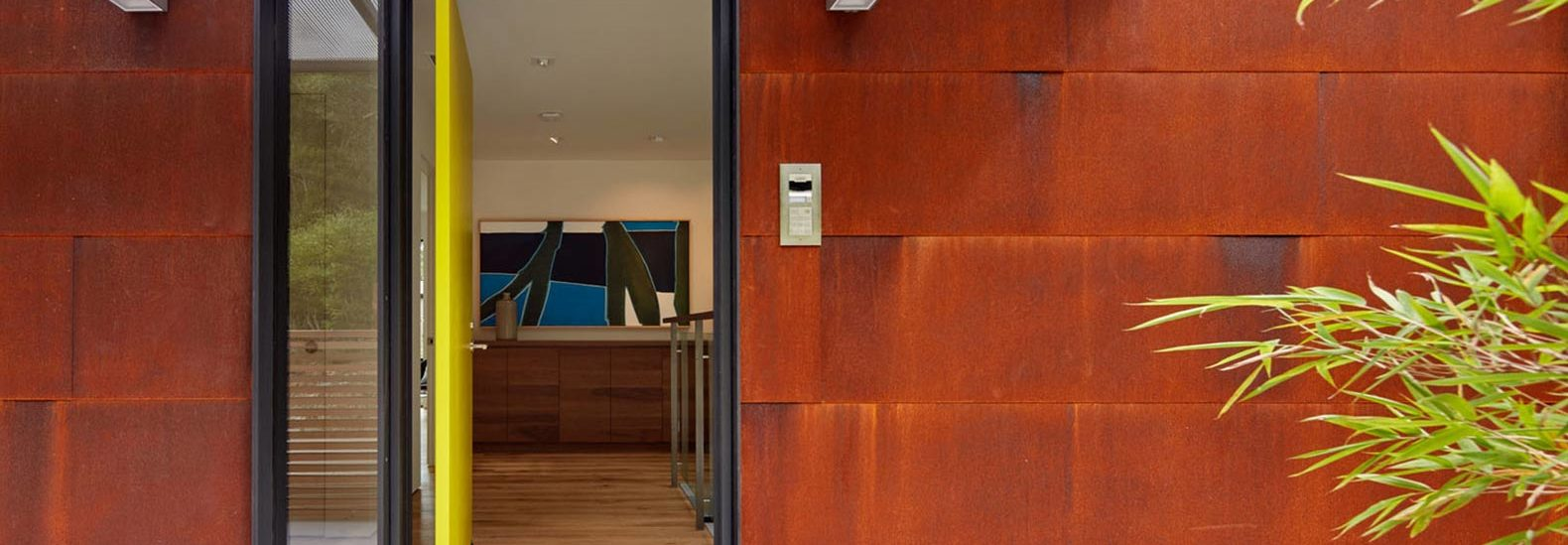 Stunning Corten Clad California Home Built For Efficiency And Flexibility