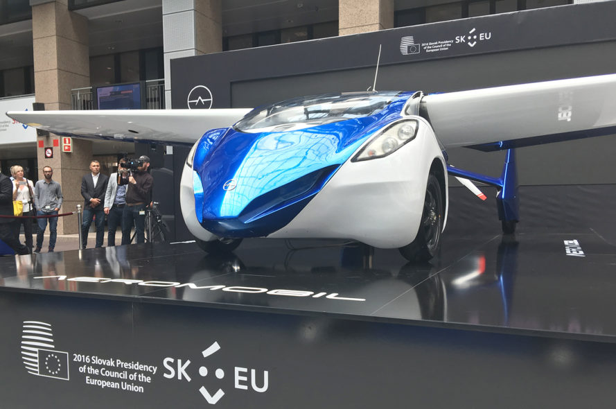 aeromobil, aeromobil 3.0, flying car, europe, brussels, slovakia, flying cars, flying vehicles, small aircraft, personal aircraft