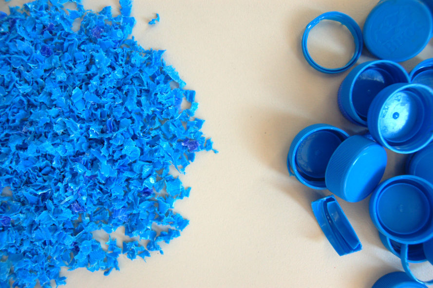 The new raw turns plastic waste into valuable raw material for Waste material to useful products