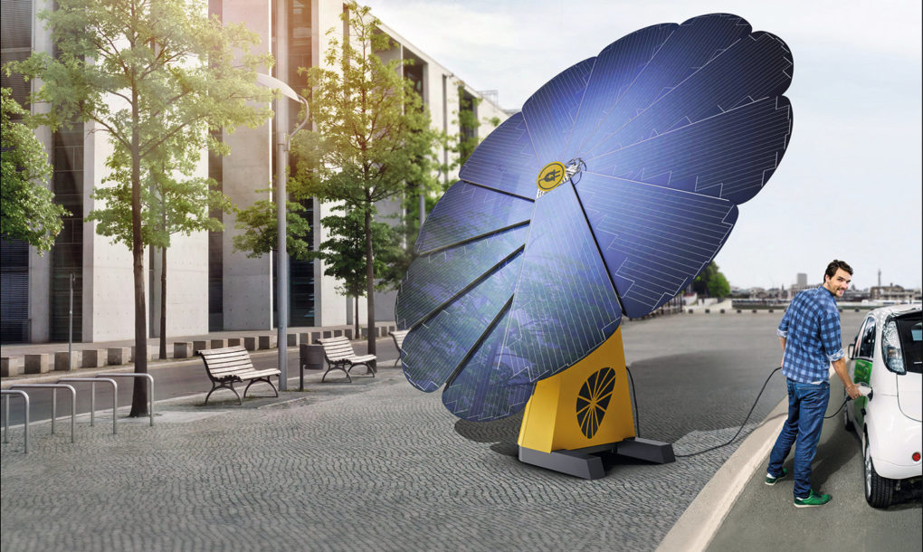 Portable Smartflower Pop Solar System Produces 40 More