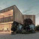 52 Cubic Wood by JOSEP and Atelier Gerhard Haumer, timber office design, timber building sequesters carbon, low-carbon footprint office, wood office,