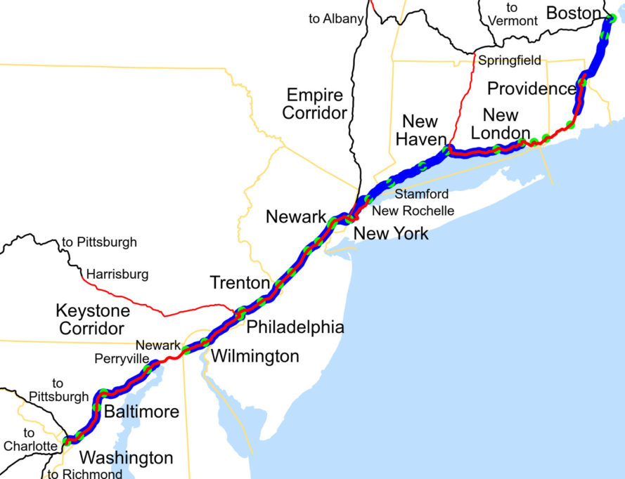 acela, amtrak, northeast corridor, boston, washington d.c., High-Speed Rail, rail, railroad, transportation, mass transit, next generation train cars, high-speed trains