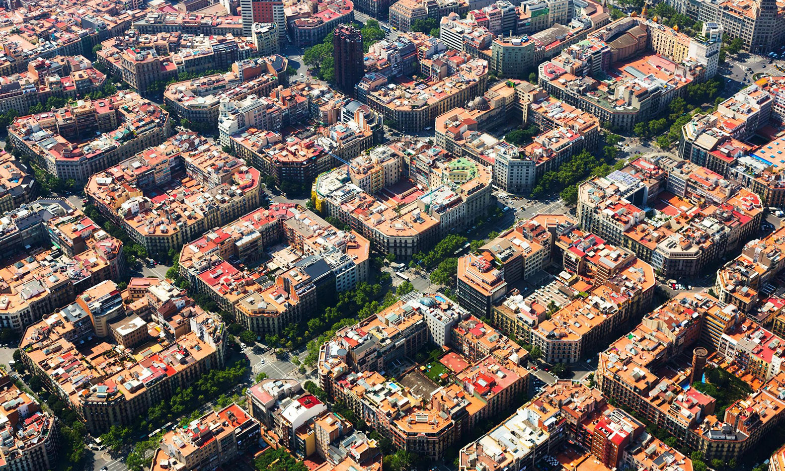 "How Barcelona ""superblocks"" return city streets to the people"