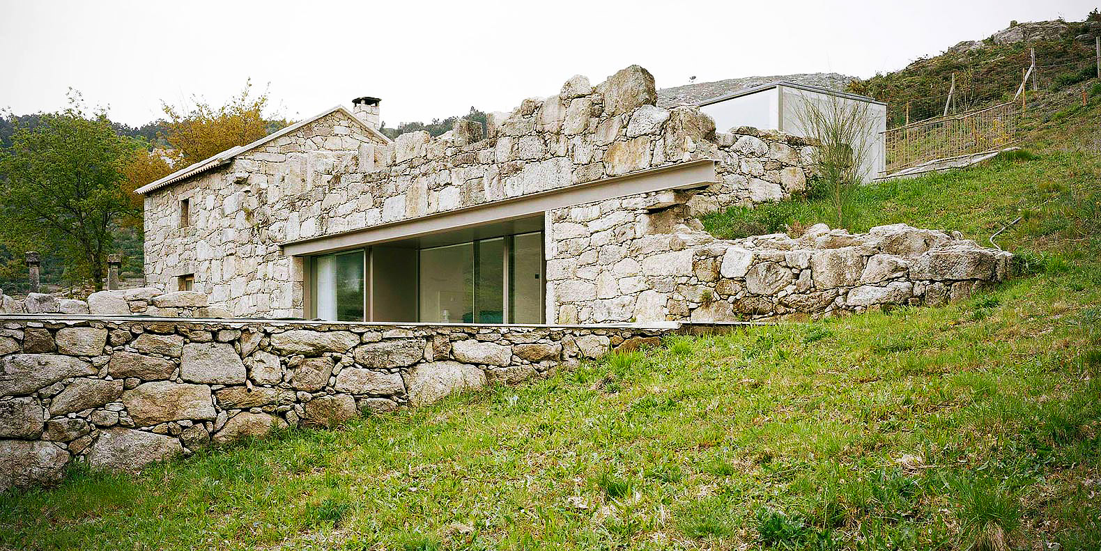 Stone house inhabitat green design innovation architecture green building - Wood and stone house plans a charming symbiosis ...