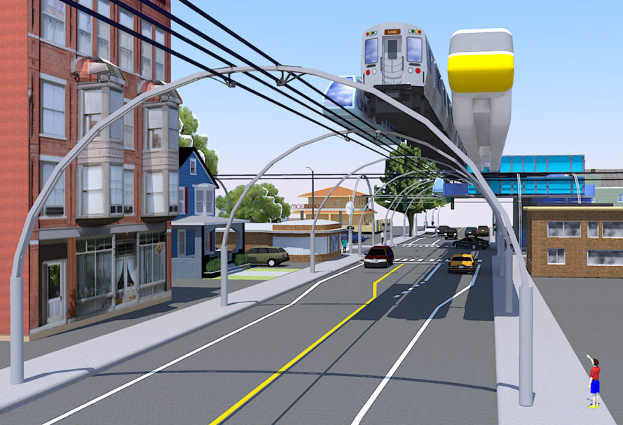 caterpillar train, cTrain, mini elevated cTrain, jacob innovations inc, indian railways, Ashwani Kumar Upadhyaya, mass transit, public transportation, urban transportation